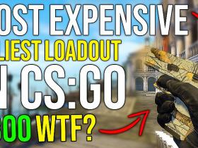 Most Expensive & Ugliest CS:GO Loadout + giveaway