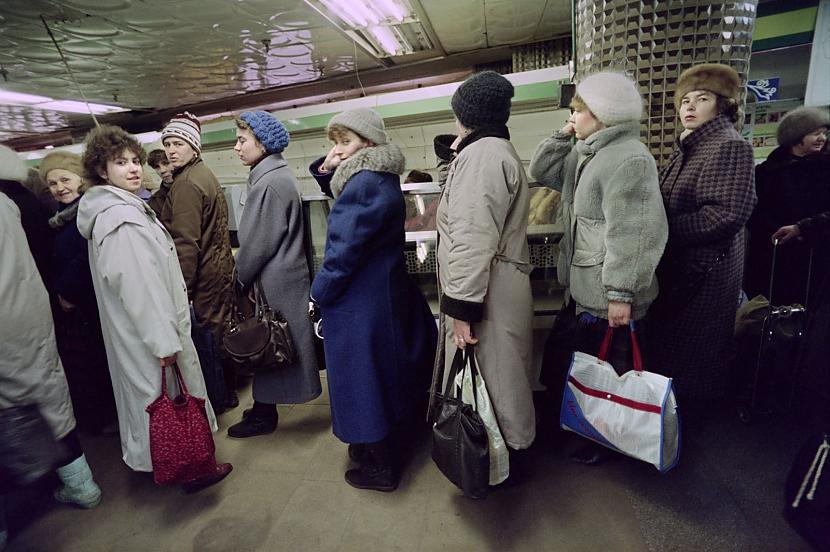 Vai var iedomāties kā tas bija... Autors: Lestets PSRS pēdējo dienu fotogrāfijas