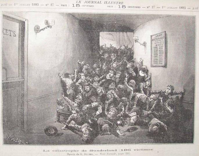 Un tad spiediens samazinājās... Autors: ĶerCiet Rotaļlietas, pūlis un 183 upuri: Viktorijas zāles traģēdija