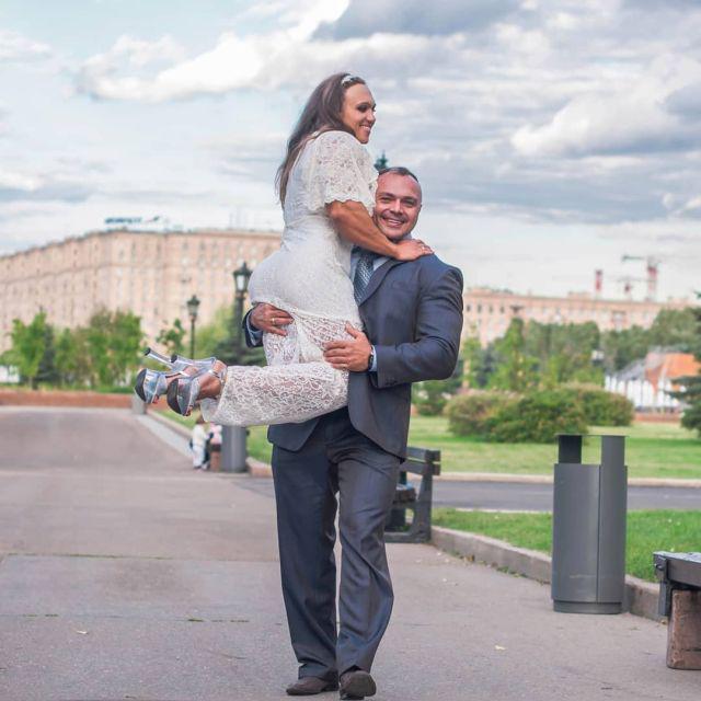 Natālija ir no Čitas Viņa... Autors: Fosilija Kad sievas muskuļi ir lielāki nekā vīra muskuļi (15 fotoattēli)
