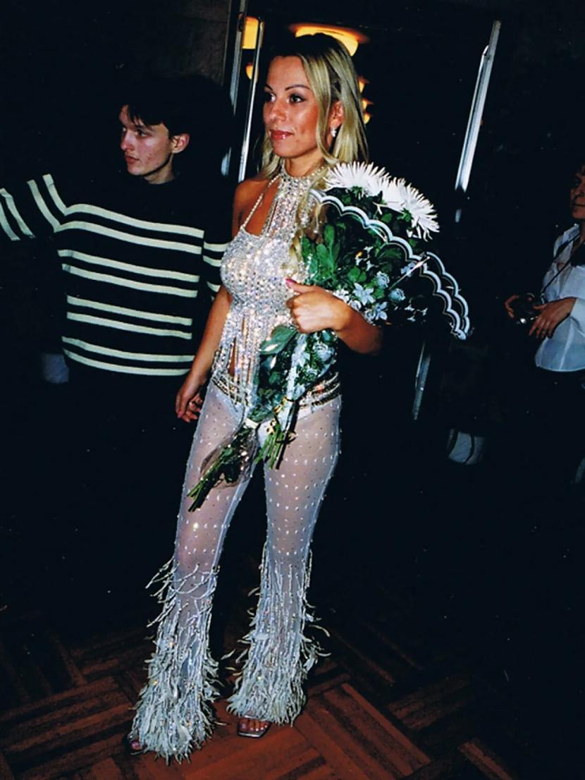 Irina Saltykova Par... Autors: Zibenzellis69 Kā Krievijas slavenības tērpās 20. gadsimta 90. gados (18 fotogrāfijas)