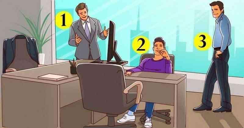 Pareizā atbildeJebkurā darba... Autors: Zibenzellis69 Loģikas tests. Kurš ir šī kabineta saimnieks?