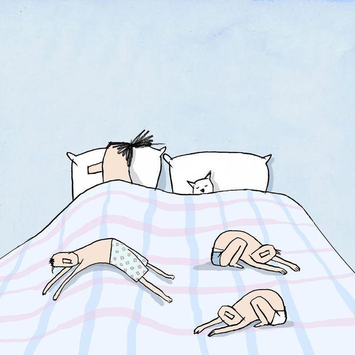 Autors: Lestets 18 ilustrācijas, kas atklāj mūsdienu pasaules realitāti