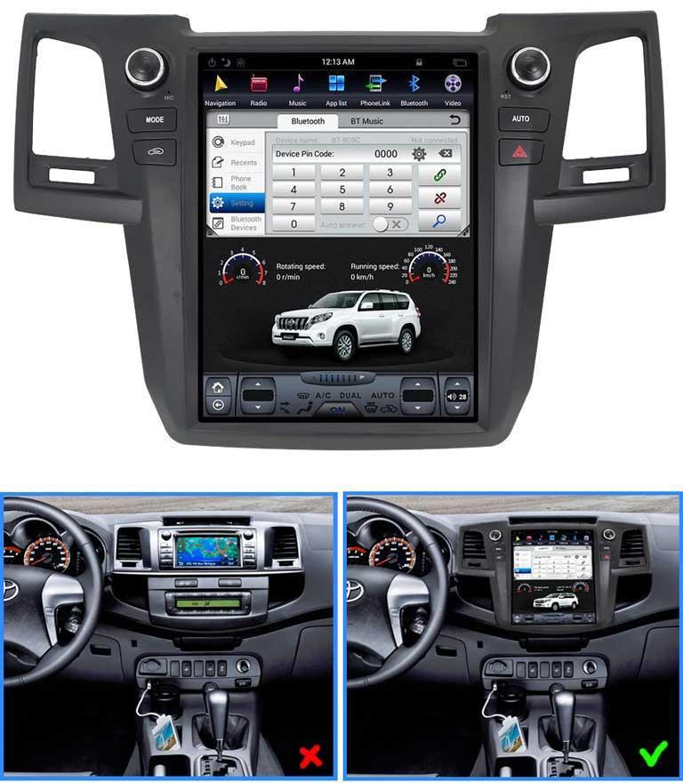 Automascaronīnas radio ZWNAV... Autors: Valery 2 15 Teslas Toyota stila automašīnu radioaparāti no AliExpress