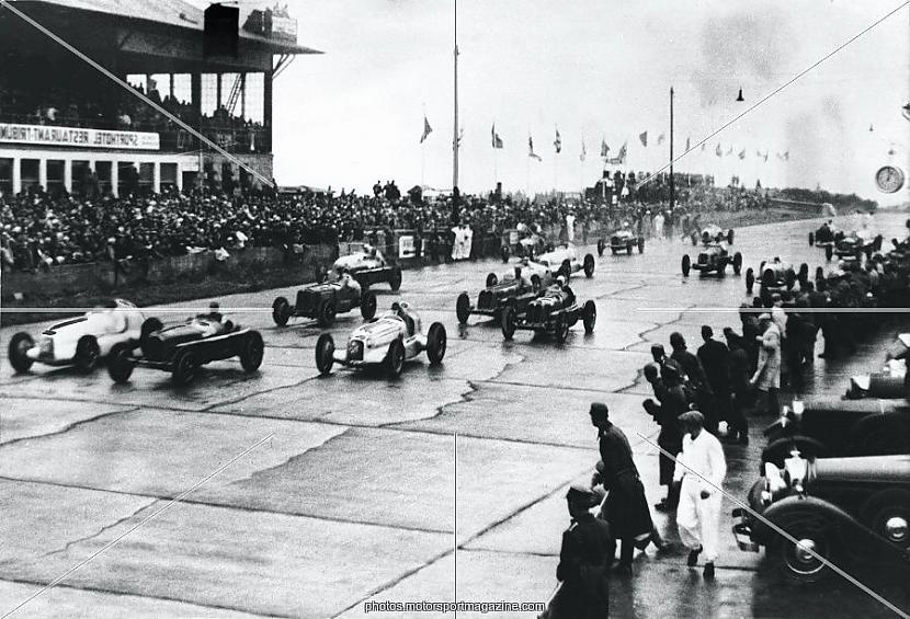 Kad Nuvolari uzvarēja... Autors: Santa Sudakova Leģenda par Nuvolari.