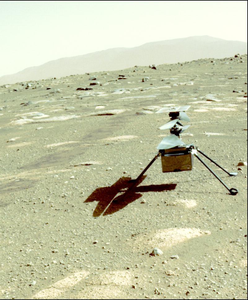 Autors: Strāvonis Marsa lidaparāts