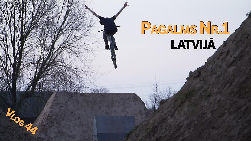 Autors: Ansis Blumbergs Būvēšana un pirmā braukāšana Sigulda backyard dirtos