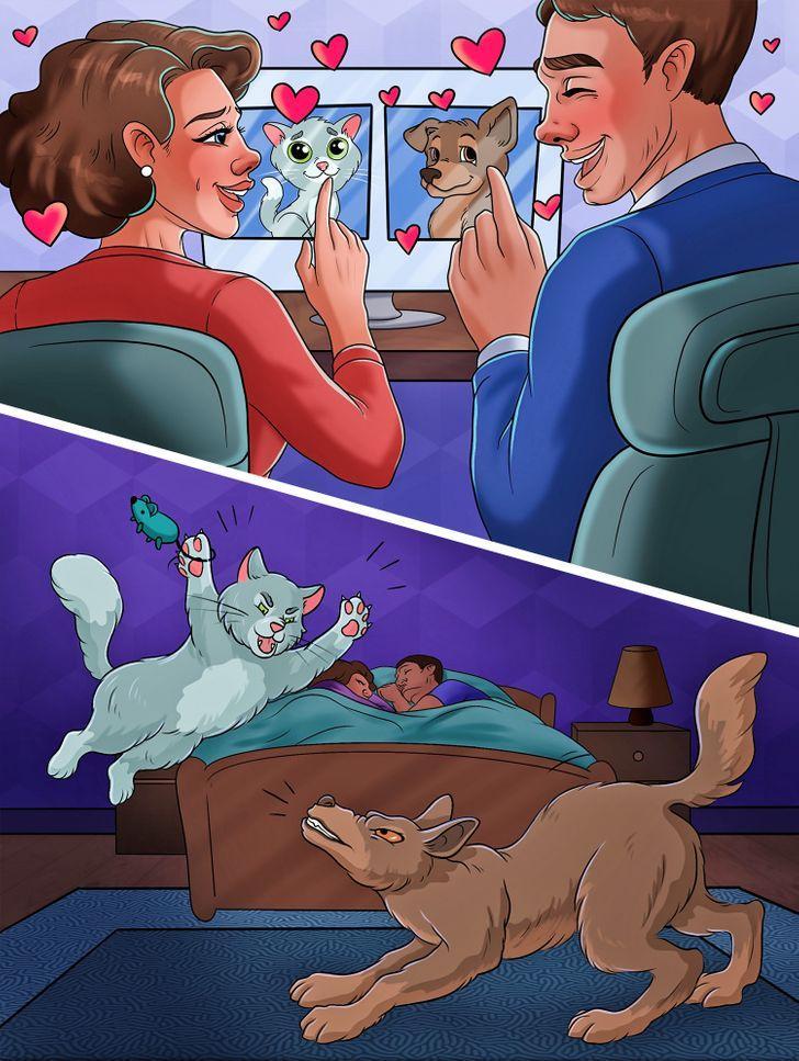 Jums patīk kaķi vai suņi kāpēc... Autors: Lestets Pasaulē ir tikai divu veidu cilvēki un parasti tie ir precējušies