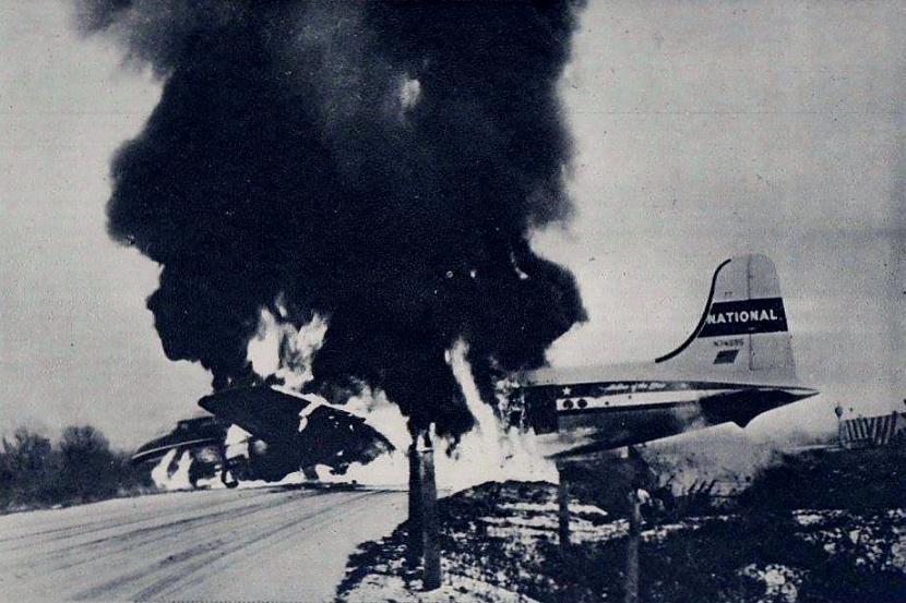 National Airlines reiss 83... Autors: Plane Crash central Komerciālo lidaparātu katastrofu bildes (Piecdesmitie)