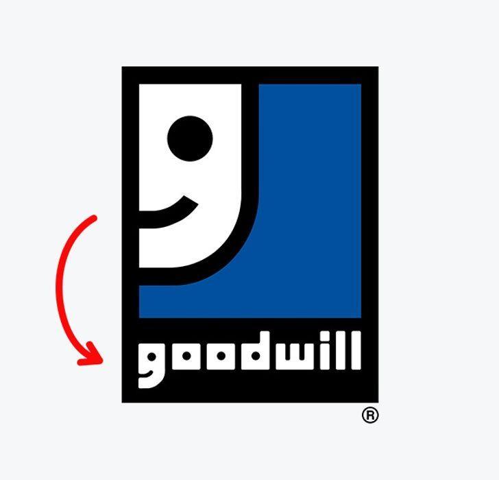 GoodwillGoodwill ir pasaulē... Autors: The Diāna 11 apslēptas simboliskas nozīmes pasaulslavenos logo