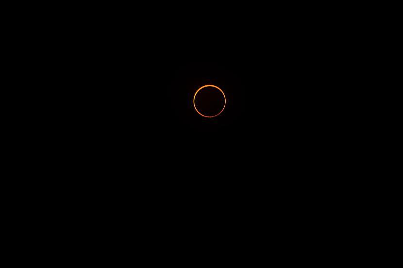 Savukārt pilns Saules... Autors: matilde Pavisam drīz Latvijā būs novērojama reta dabas parādība