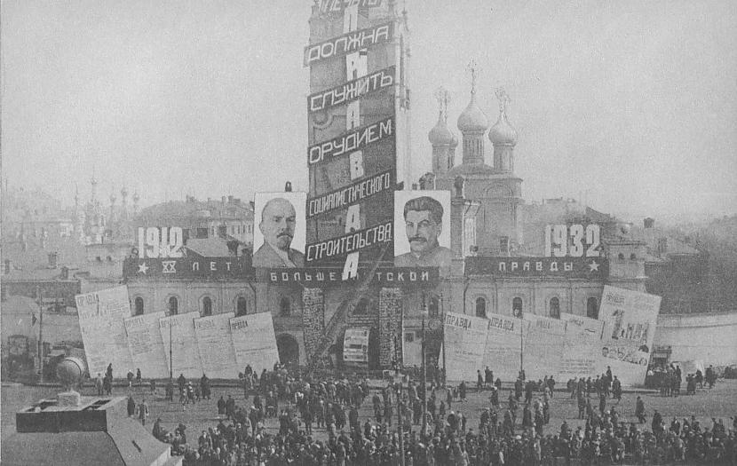 Kurā gadā notika revolūcija... Autors: Lestets PSRS 1930-to gadu dzīve