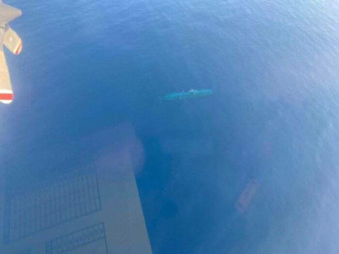 Vācu zemūdene pamanīta no... Autors: Lestets Cilvēka veidoti zemūdens objekti, kas liks bailēs peldēt prom
