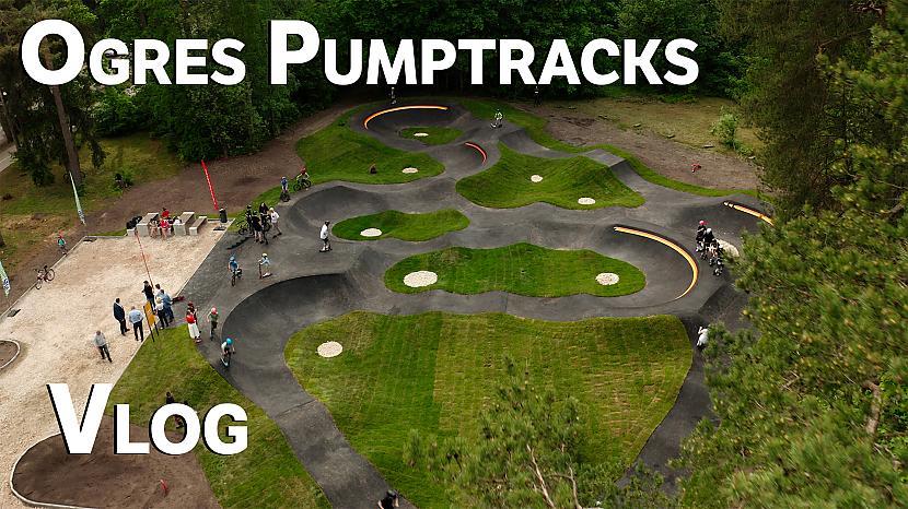 Autors: Ansis Blumbergs Ogres pumptrack apskats
