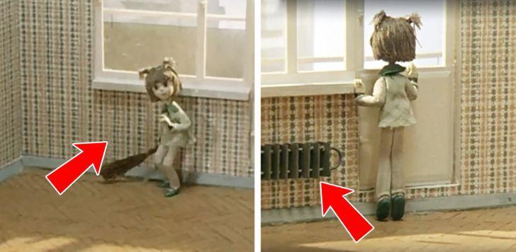 Mājas gariņscaron KuzjaScēnas... Autors: Lestets 25 padomju laiku multfilmu kļūdas, ko pamanīs vien piekasīgākie pieaugušie