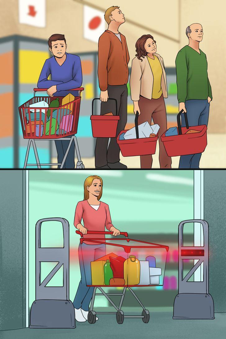 Durvis kas skenē preču kodusTā... Autors: Lestets 10 nākotnes izgudrojumi, kas var izmainīt mums ierastās lietas