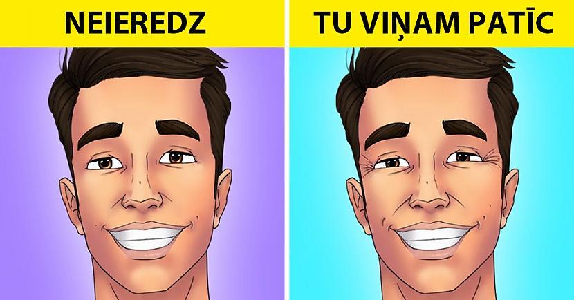 Viņi vilto smaiduDaudzi no... Autors: Lestets 8 psiholoģiski triki, kas ļaus nolasīt citu cilvēku domas