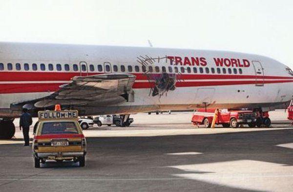 TWA reisa 840... Autors: Plane Crash central Komerciālo lidaparātu katastrofu bildes (Astoņdesmitie) 1986.-1989.g