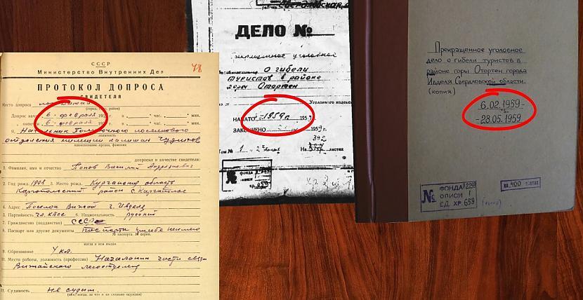 """5 Sajauktie datumi aizdomas... Autors: ottokaars DJATLOVA PĀREJA, bez """"buļļa mēsliem""""... 2.daļa"""