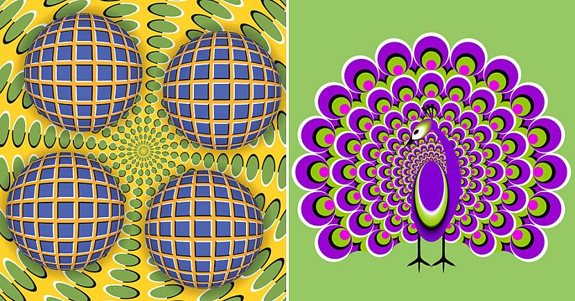 Apskati scaronos 16 optisko... Autors: matilde 16 optiskās ilūzijas, kas neatstās vienaldzīgas neviena cilvēka acis