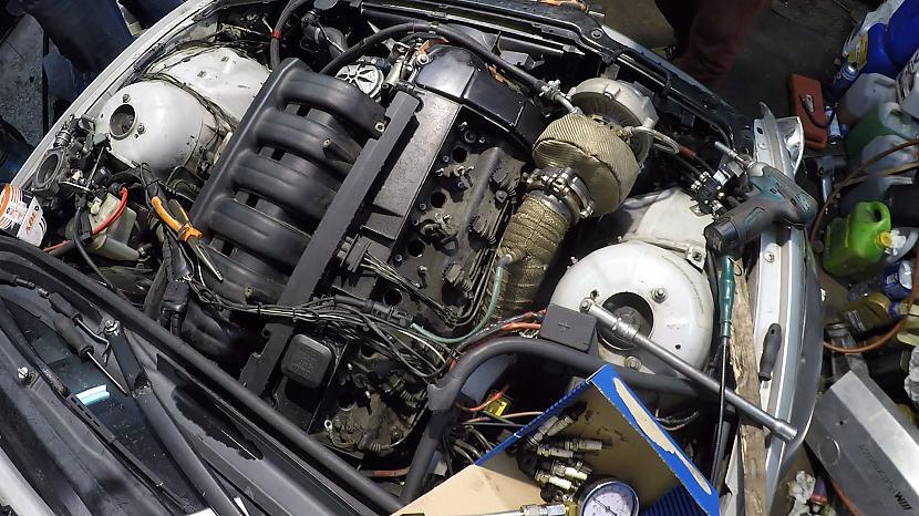 Ir skaidrs ka notika kas... Autors: MyPlace Kas notika ar 500hp turbo BMW e46 ?! VIDEO Autovlogs #12