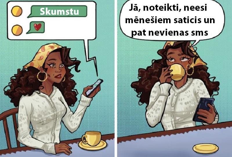 Vai arī tev ir draugi kas... Autors: Lestets 11 ilustrācijas, kas pierāda, ka sociālie tīkli ir vien ilūzija