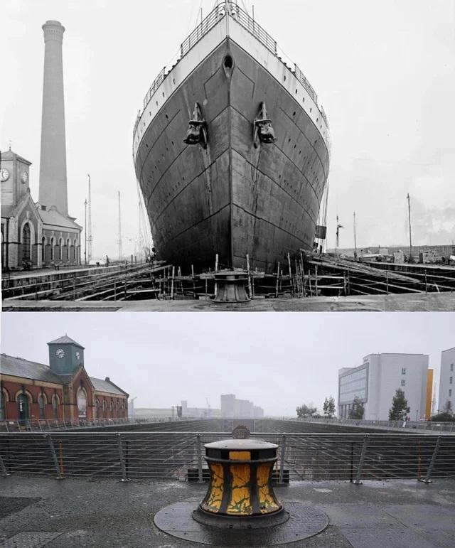 Sausais doks kurā 1912 g... Autors: Lestets Toreiz un tagad: Kā laika gaitā ir mainījušās šīs vietas?